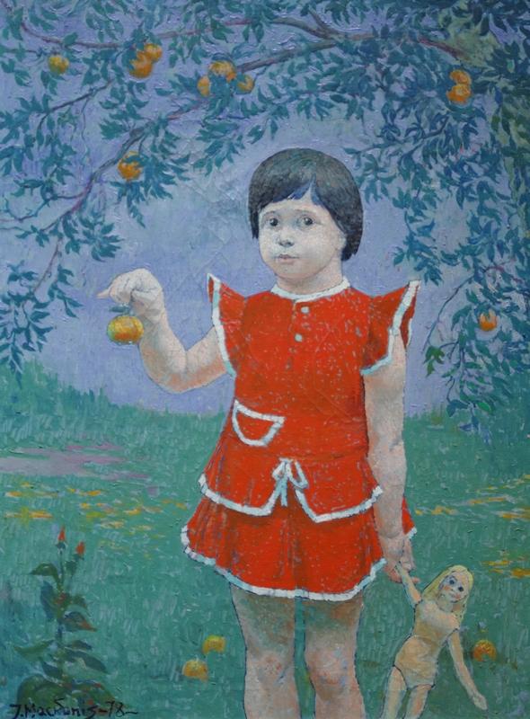 Aistė, 1978, 78x62