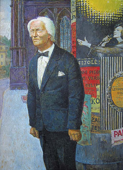 Antanas Šabaniauskas, 1985, 80x60