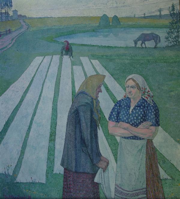 Audėjos, 1971,100x100
