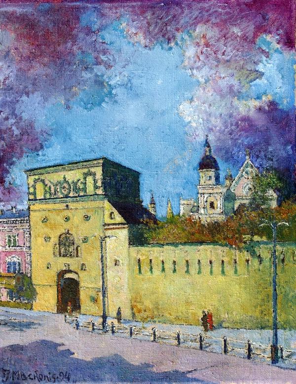 Aušros vartai, 1994, 50x40