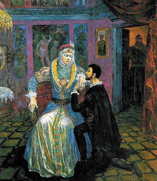 Barbora ir Žygimantas, 1993, 98x86