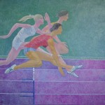 Barjerinis bėgimas, 1962, 100x121