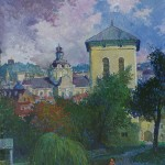 Bazilijonų šventorius, 1998, 60x50