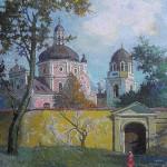 Bažnyčios, 1992, 55x46