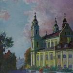 Šv. Rapolo bažnyčia, 1990, 58x45