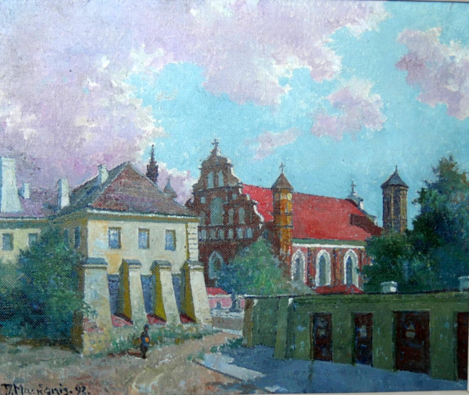 Bernardinai, 1992, 46x55