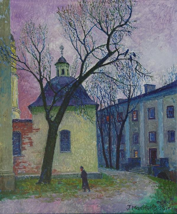 Čia kalėjo Mickevičius, 1998, 59x49