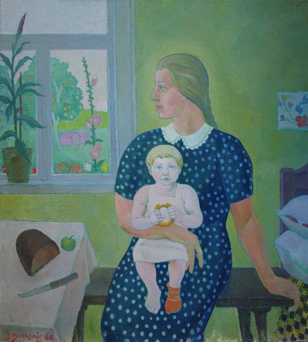 Dzūkijos Madona, 1968, 100x90