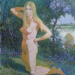 Gamtoje, 1983, 50x39