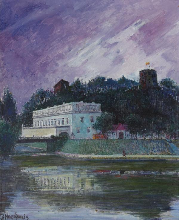 Gedimino kalnas, 1997, 59x49