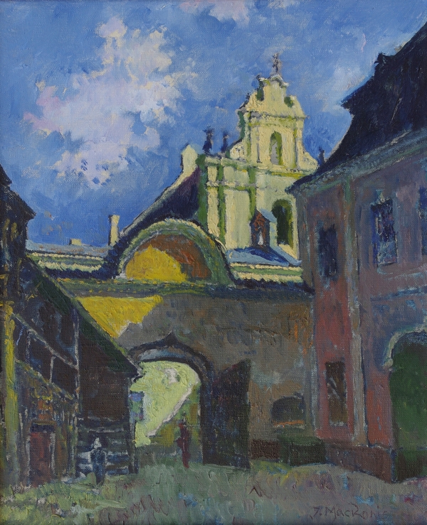 Kiemas Šv. Ignoto gatvėje, 1996, 46x38