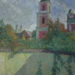 Medininkų kiemas, 1975, 50x34