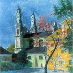 Misionierių bažnyčia, 1990, 50x40