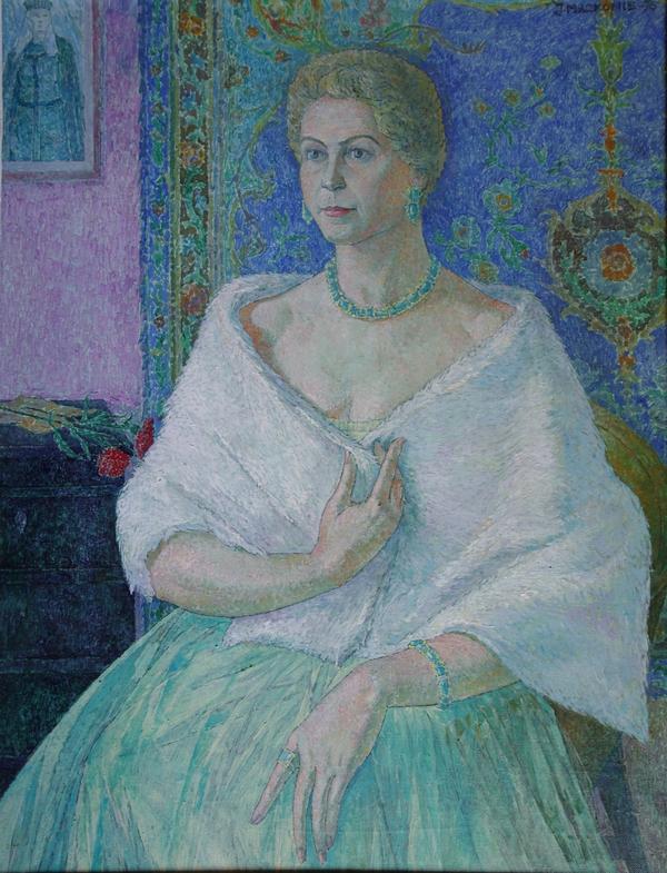 Operos solistė Elena Saulevičiūtė, 1973, 110x82