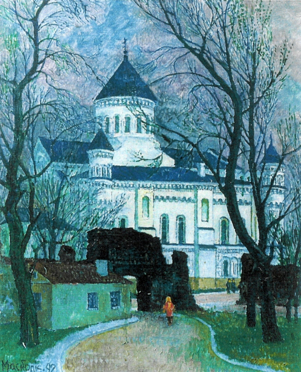 Piatnickajos cerkvė, 1992, 56x47