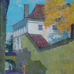 Pilies skersgatvis, 1986, 40x31