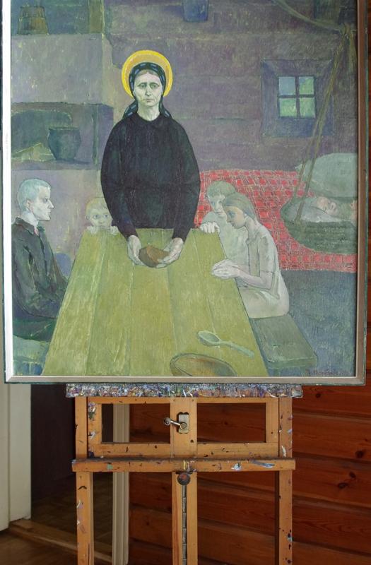 Prisimenu savo motiną (Paskutinė duona), 1970, 110x100