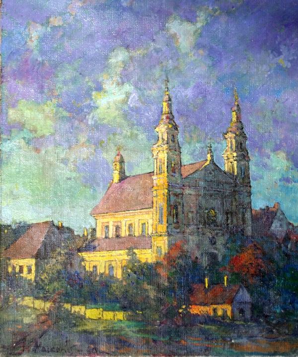 Rapolo bažnyčia, 1960, 46x38