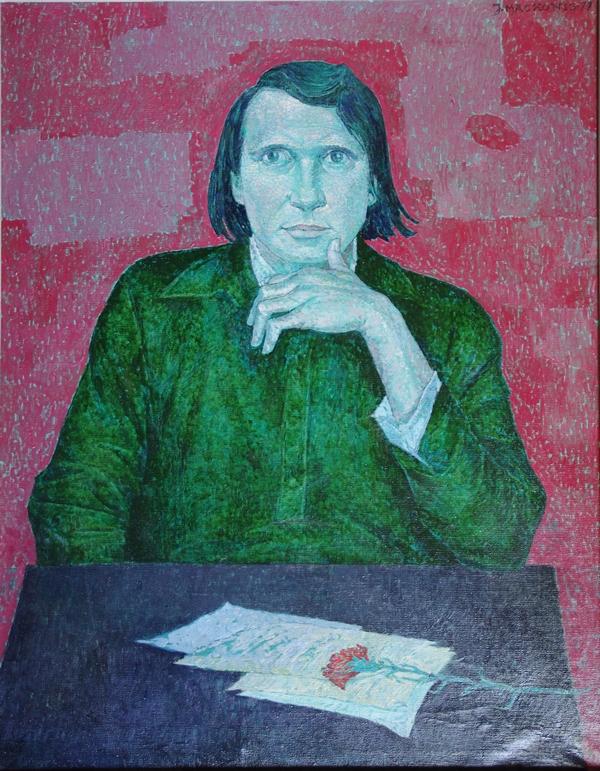 Rašytojas Jonas Mačiukevičius, 1977, 94x74
