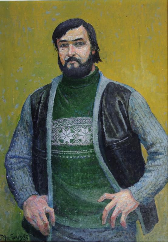 Rašytojas Romualdas Granauskas, 1983, 91x64