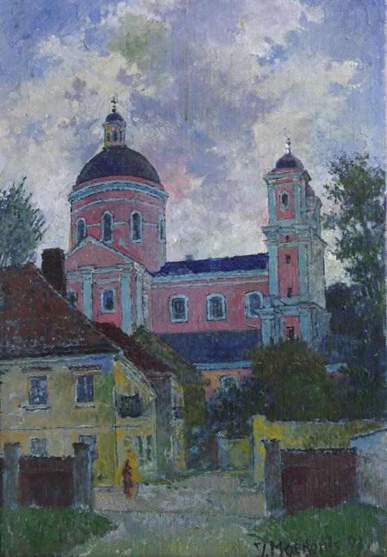 Šv. Kazimiero bažnyčia, 1991, 34x49