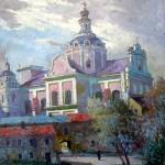 ŠŠv. Kazimiero bažžnyčia, 1996, 60x49