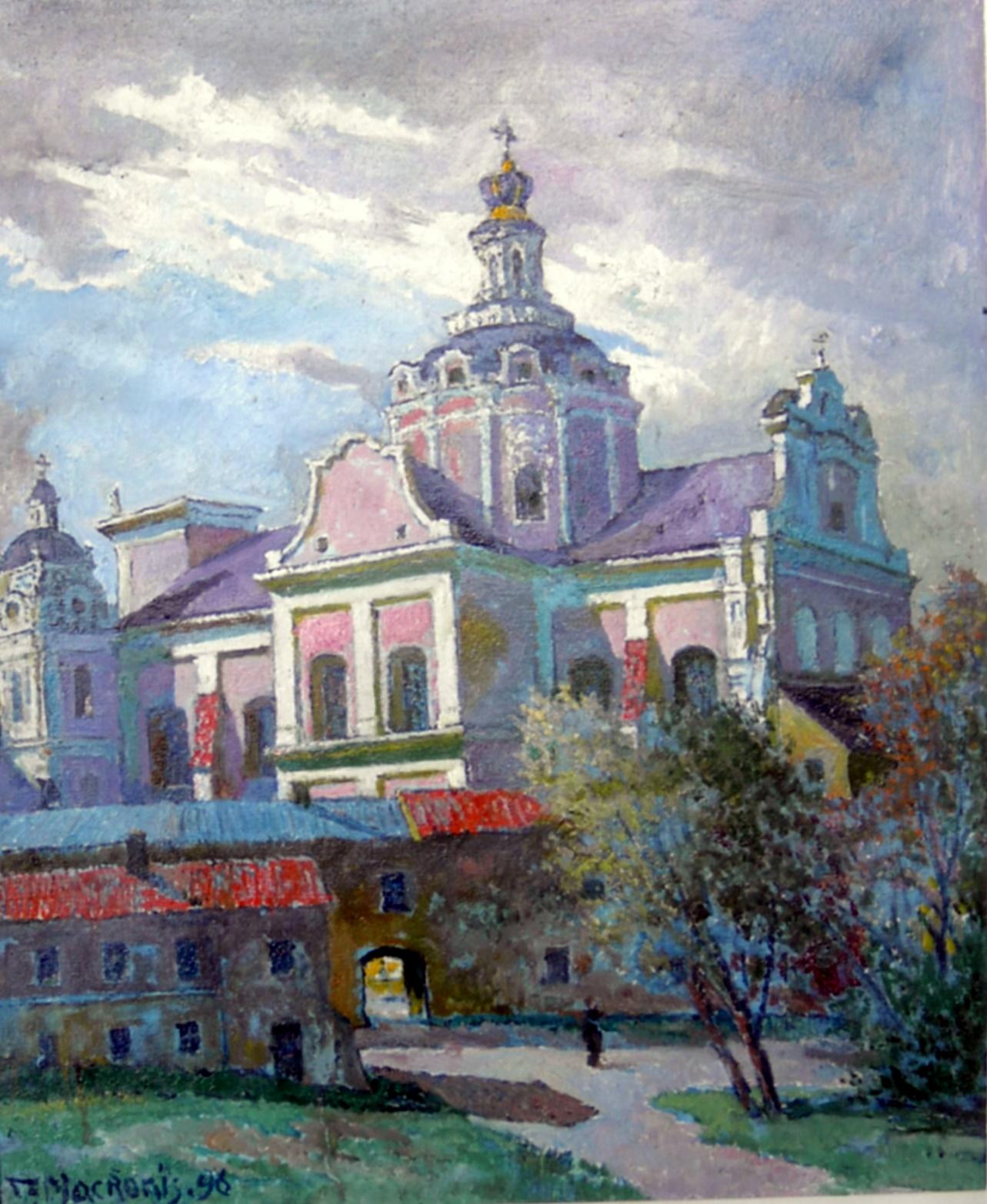 Šv. Kazimiero bažnyčia, 1996, 60x49