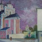 Šv. Kotrynos bažnyčios užuovėja, 1995