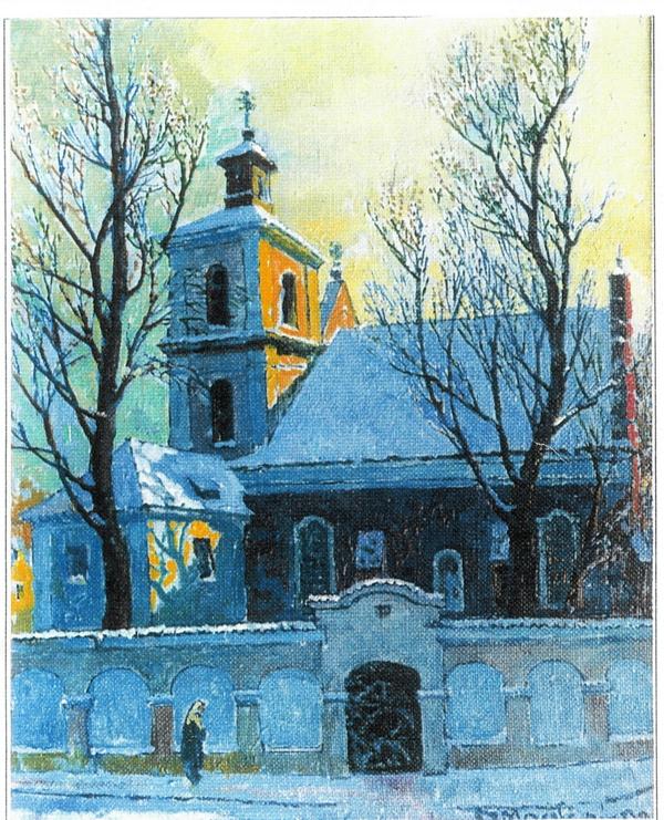 Šv. Mikalojaus bažnyčia, 1990