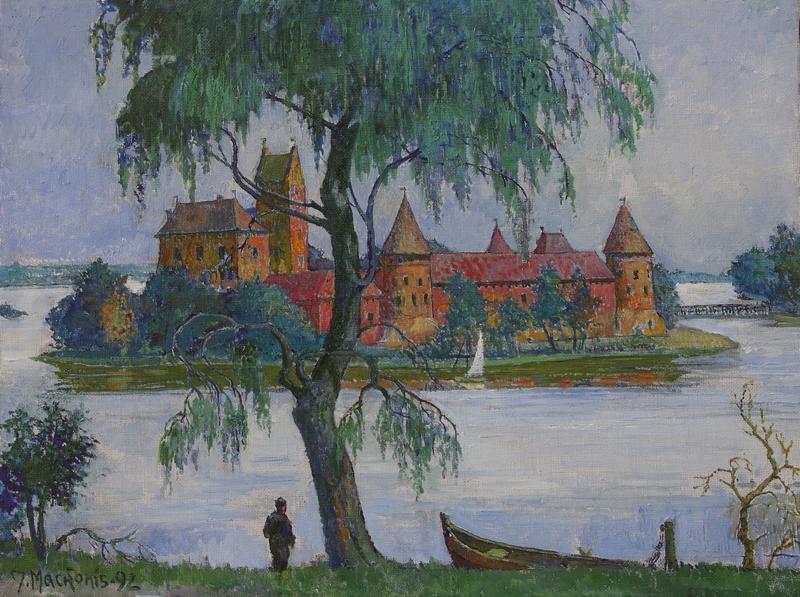 Trakai, 1992, 64x49