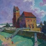 Trakų pilis, 1996, 60x49
