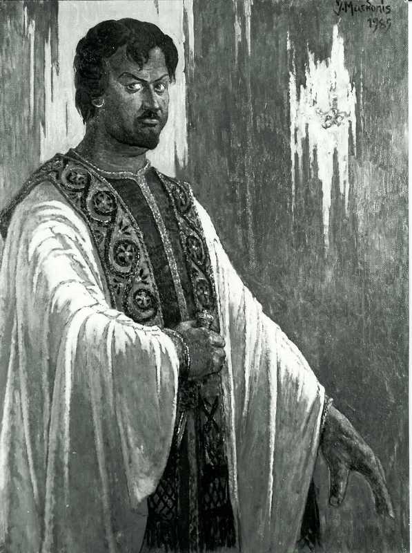 Virgilijus Noreika Otelo vaidmenyje