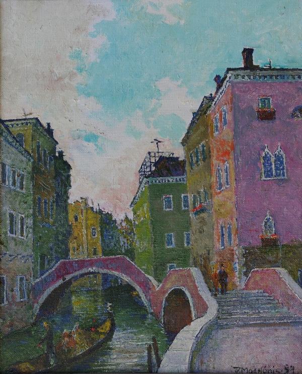 Venecija, 1994, 49x39