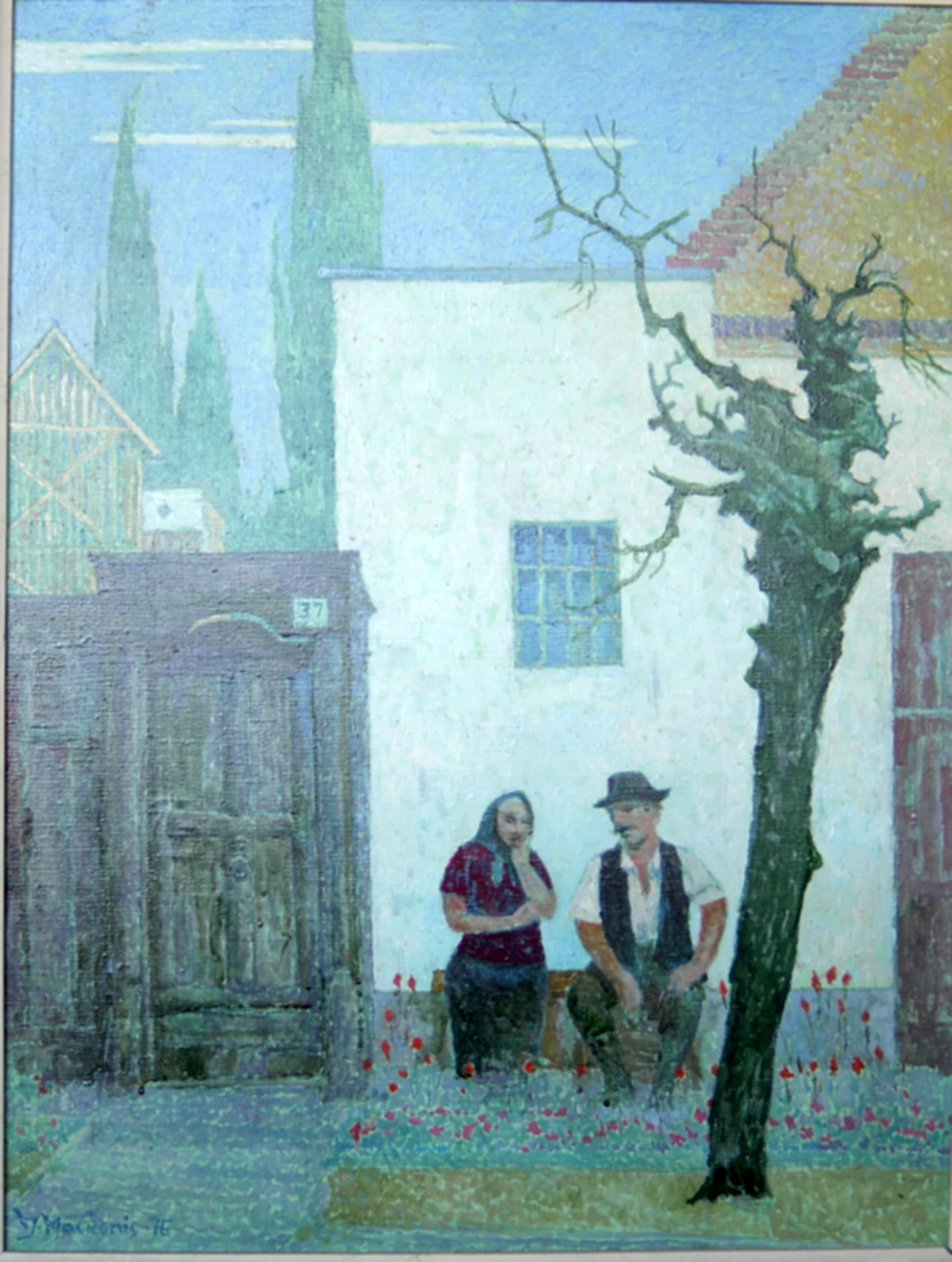 Vengrišškasis motyvas, 1976, 80x62