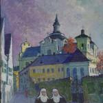 Vienuolės, 1995, 58x49
