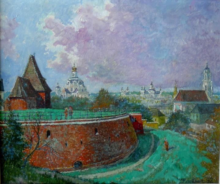 Vilniaus Artilerijos bastionas, 1992, 46x56