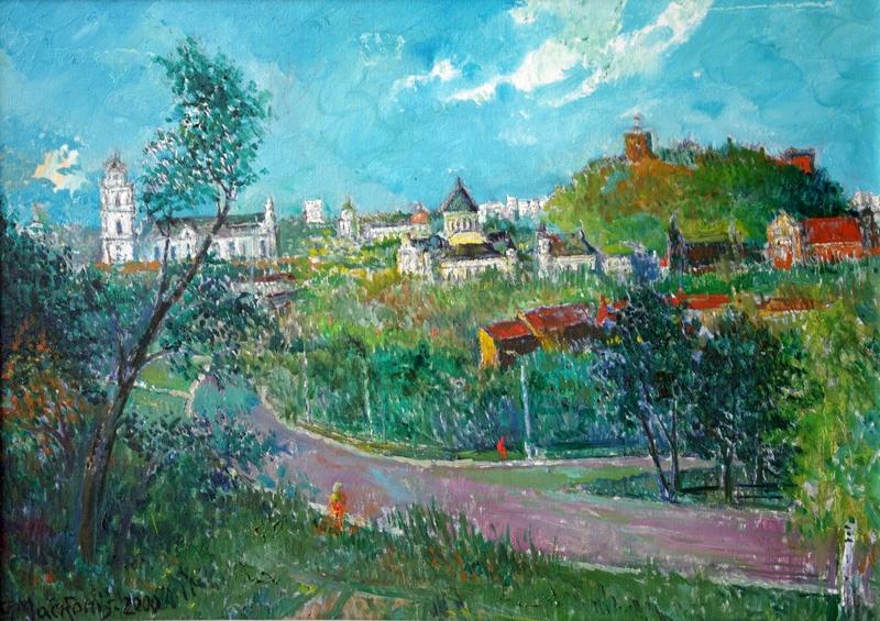 Vilniaus panorama, 2000, 50x70
