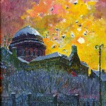 Vilniaus sinagoga, 1993, 39x30