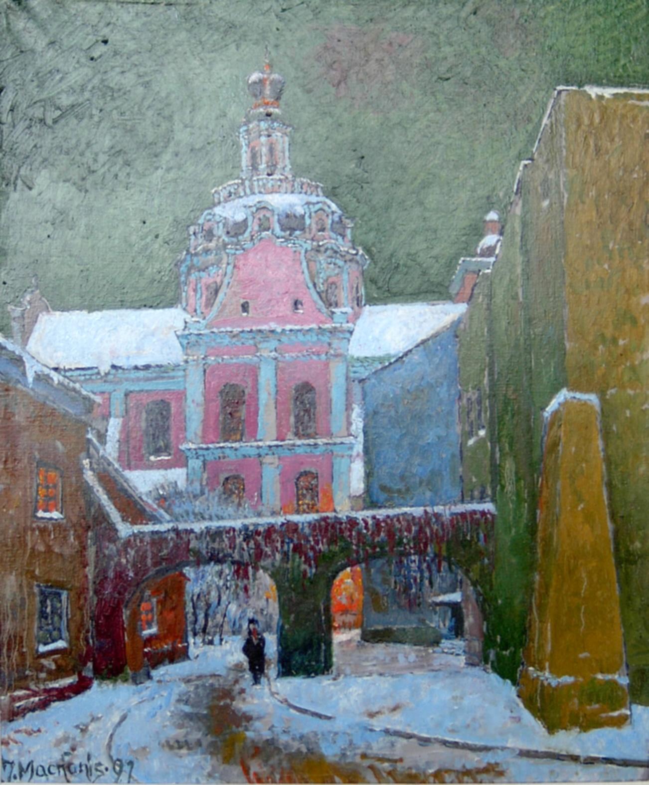 Vilnius. Josifo Franko kiemas, 1997, 60x49