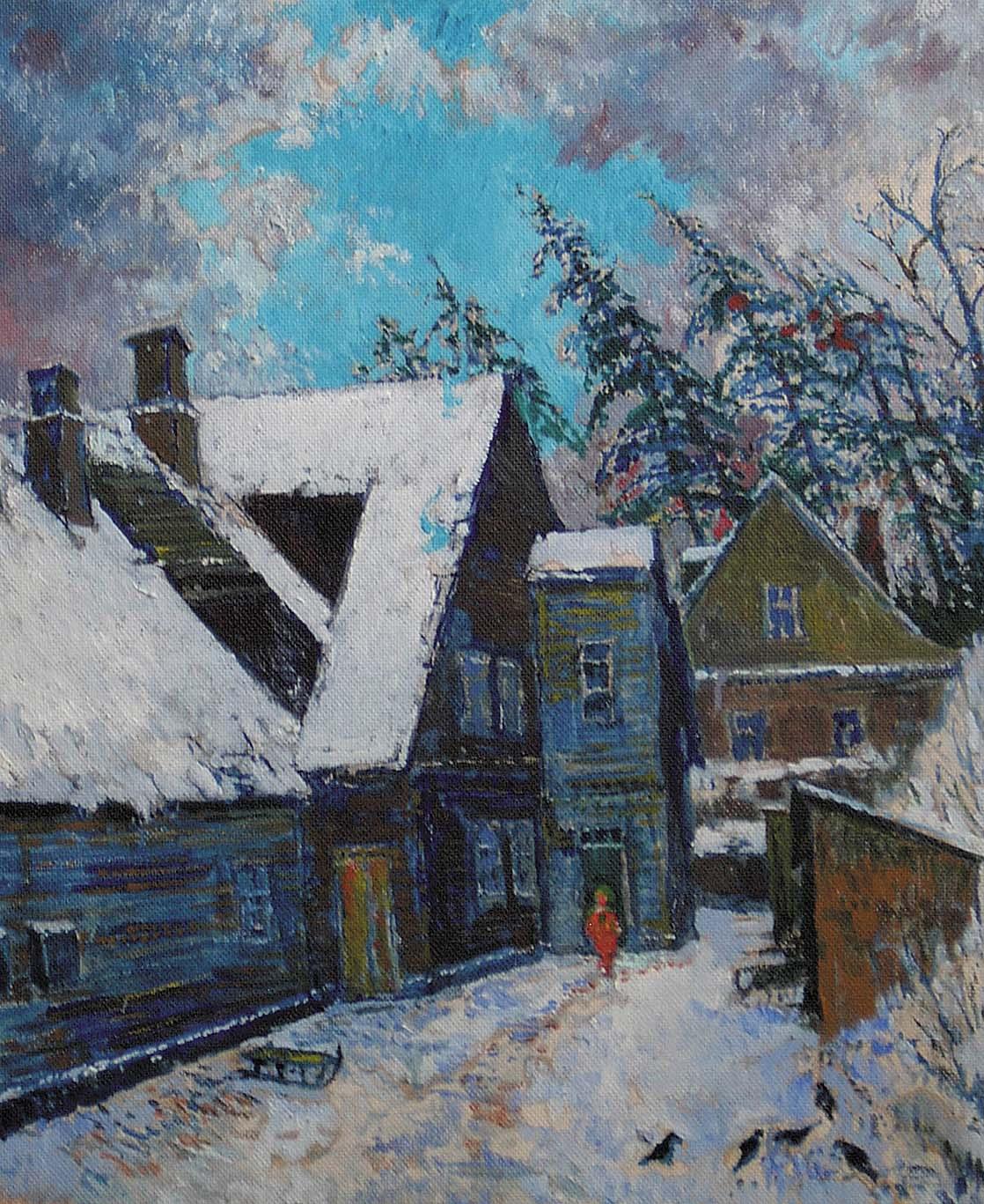 Žiemos naktis
