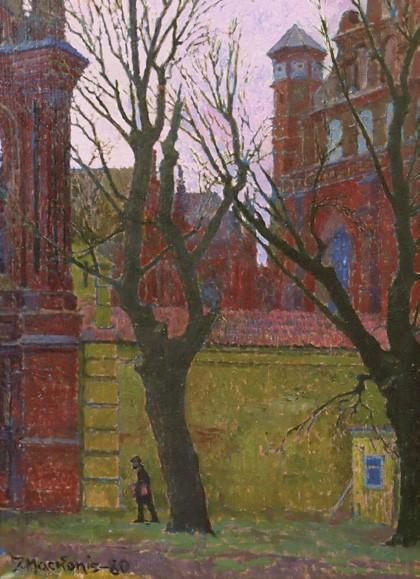 Prie Bernardinų sienos, 1980, 50x34
