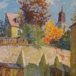 Ruduo Užupyje, 1983, 39x29