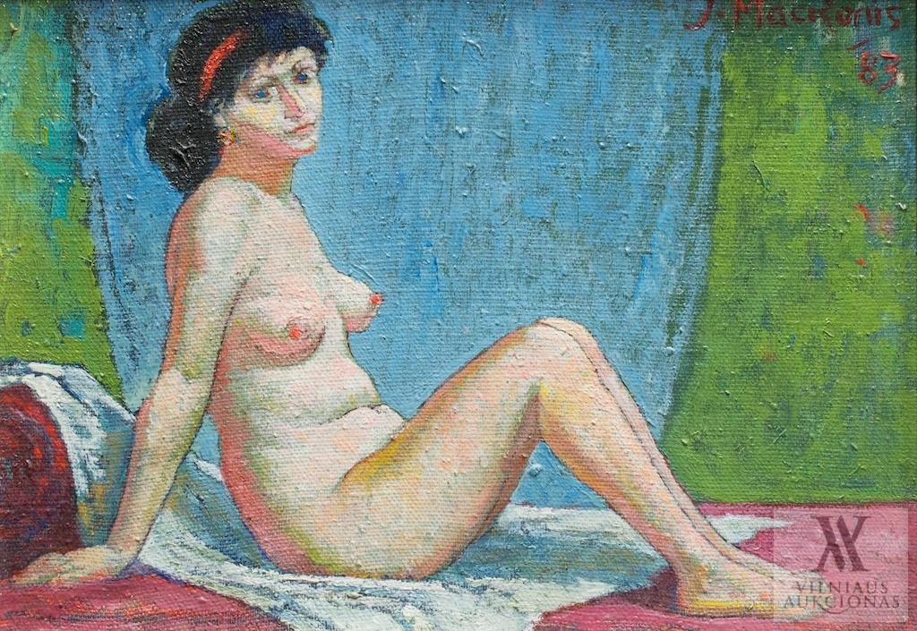 Moters aktas, 1983, 24,5x34