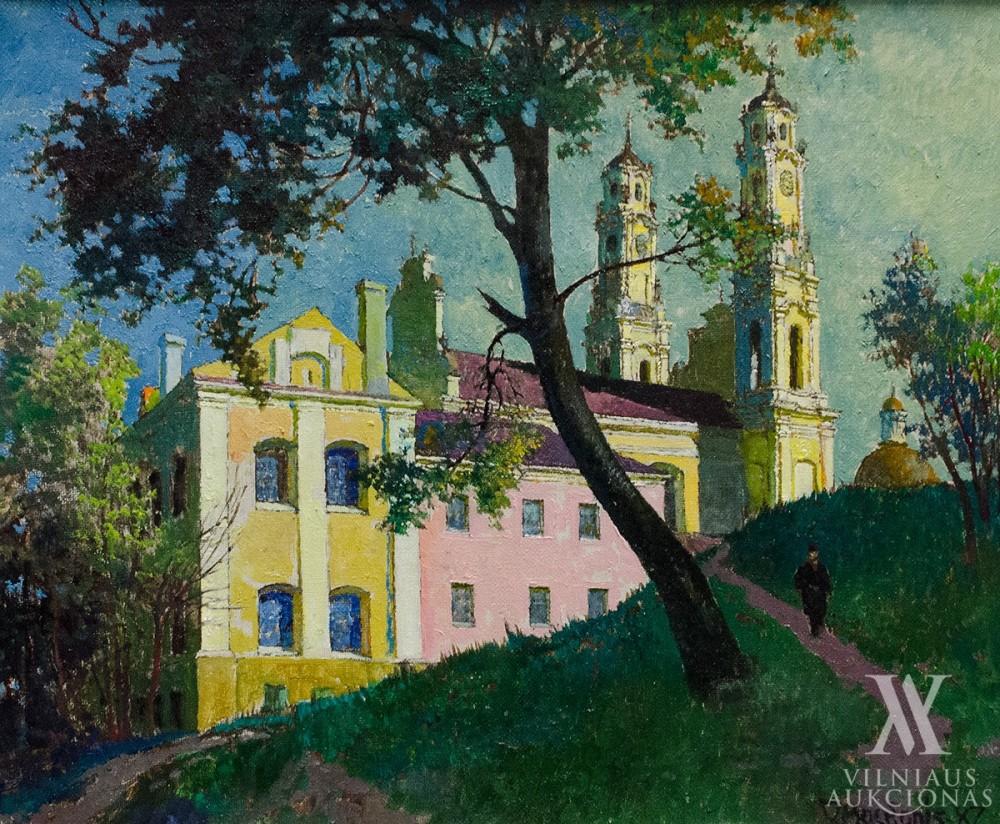 Vilniaus Misionieriai, 1987, 50x60